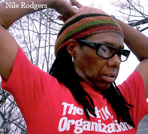 Nile Rodgers wears Good at Magic